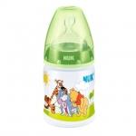 NUK ขวดนมคอกว้าง First Choice+ ลาย Disney Winnie the Pooh 150ml