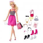 z Barbie Fashion Doll with Glam Accessories ของแท้100% นำเข้าจากอเมริกา ตุ๊กตาบาร์บี้ และเซ็ตเครื่องประดับ