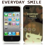 พร้อมส่ง* เคสไอโฟน 4 & 4S TPU Case EVERYDAY SMILE (ส่งฟรี EMS)