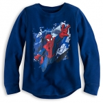 Z Spider-Man Long Sleeve Thermal Tee for Boys