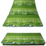 ที่นอนปิคนิค หุ้มผ้า สีเขียว