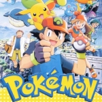 Pokemon Season 8 V2D 7 Disc พากษ์ไทย