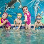 """ SWIM GOGGLES ป้องกันแสง UV แว่นตาว่ายน้ำ แว่นว่ายน้ำเด็ก"