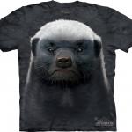 พรีออเดอร์ .เสื้อยืดพิมพ์ลาย3D The Mountain T-shirt : Honey Badger