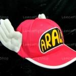 หมวก ARALE อาราเล่ สีชมพูเข้ม