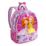 "z Disney Sofia the First Backpack สูง15"""