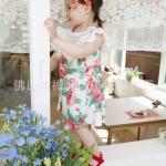 เดรสสีขาวลายดอกไม้ ระบายคอ PinkIdeal