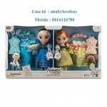 ฮ Disney Animators' Collection Anna and Elsa Dolls Deluxe Gift Set - 16''