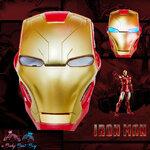 """ Mask Iron Man Super Hero - The Avengers - หน้ากากไอรอนแมน มีไฟ ที่ตา"