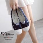 รองเท้าผ้าใบ Mickey Mouse ทรงสวย ใส่นิ้มนิ่ม