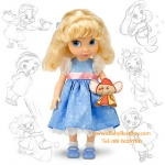 z Disney Animators' Collection Cinderella Doll - 16'' (พร้อมส่ง) ตุ๊กตาดีสนีย์ แอนิเมเตอร์ เจ้าหญิงซินเดอเรล่า รุ่นเก่า (รุ่นแรก)