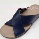 รองเท้า Fitflob XOSA สายคาดกากบาท สีน้ำเงิน No.FF168
