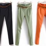 (Pre-Order) กางเกงทำงาน กางเกงลำลอง การเกงแฟชั่น ทรงฮาเร็ม แฟชั่นเกาหลีปี 2014