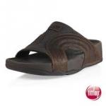 รองเท้า Fitflob Freeway for men Chocolate สีน้ำตาลเข้ม No.FF142 ไซส์ 41-44