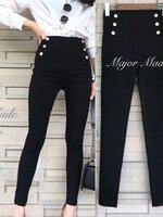 กางเกงแฟชั่น กางเกงสกินนี่เอวสูงปรี๊ด รุ่นนี้ผ้ายืดได้เยอะมากๆ ขาเรียวยาว