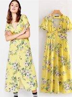 เดรสแฟชั่น เดรส Zara กระดุมหน้ายาว สีชุดสวยสดใส ตรงแขนน่ารัก
