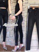กางเกงแฟชั่น กางเกงยีนส์ขายาว งาน ZARA ผ้ายีนส์ยืดเนื้อหนา ฟอกสีสวยมาก