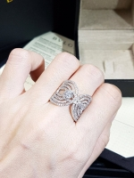 diamond Ring แหวนทรงเพชรสาน งานเพชรสวิสฝังแบบ Microsetting
