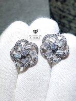 พร้อมส่ง ~ Diamond Earring ต่างหู เพชร CZ เกรด 8A