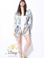 เสื้อแฟชั่น Gucci เสื้อพิมพ์ลายดอกไม้ผ้าพริ้วๆ เป็นผ้าซาตินซิลเนื้อนิ่มอย่างดี