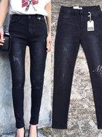 กางเกงแฟชั่น รุ่นใหม่มาแล้ว เอวสูง รุ่นนี้เนื้อผ้าดีมากค่ะ ผ้ายีนส์เนื้อนุ่มใส่สบาย