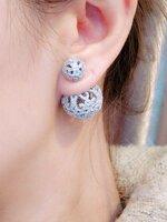 พร้อมส่ง ~ Apm Jewelry earringต่างหูApm Monaca สั่งผลิตจากต้นแบบ ขนาดเท่าของจริง