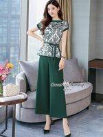 ชุดเซทแฟชั่น ชุดเซ็ทเสื้อ+เชือก+กางเกงงานเกาหลี ทั้งชุดผ้าเนื้อดีนุ่มมีน้ำหนัก