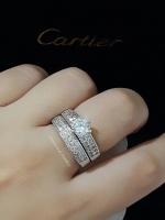 พร้อมส่ง ~ Diamond Ring งานเพชร CZ แท้ แหวนเซตมี 2 วงคะ