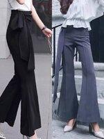 กางเกงแฟชั่น กางเกงขายาวปลายขาบาน แพทเทิร์นสวยปัง