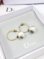พร้อมส่ง ~ Autumn Dior ต่างหูDior ชนช๊อป งาน 1:1 มีปั้ม Logo