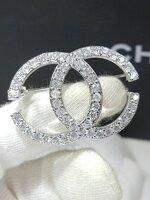 พร้อมส่ง ~ Diamond Chanel Brooch เข็มกลัดชาแนล รุ่นคลาสสิค