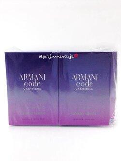 น้ำหอม Giorgio Armani Code Cashmere for women ขนาดทดลอง 1.5ml