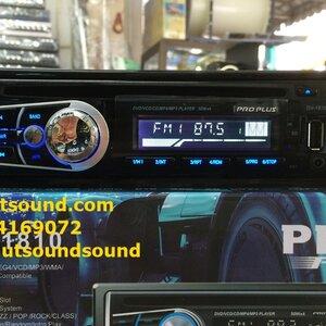 วิทยุติดรถยนต์ ดีวีดี ยี้ห้อ PRO PLUS รุ่น DV-1810