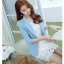 เสื้อสูทเบลเซอร์ มีซับในอย่างดี รุ่น R8028 สีฟ้า thumbnail 1