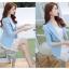 เสื้อสูทเบลเซอร์ มีซับในอย่างดี รุ่น R8028 สีฟ้า thumbnail 5