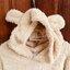 [พร้อมส่ง] ชุดนอนเสื้อขนสัตว์มีฮูดหมี+กางเกง มีสีน้ำตาล/ครีม thumbnail 31