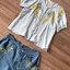 ชุดเซทแฟชั่น งานเซ็ทสวยเก๋ลุคสาววินเทจ ดีเทลเสื้อเนื้อผ้าคอตตอล thumbnail 5