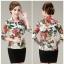 (Pre-order) เสื้อเชิ้ตผู้ใหญ่ เสื้อเชิ้ตผู้หญิงแขนสามส่วน แฟชั่นเกาหลี ไซส์ใหญ่ thumbnail 2
