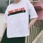 [พร้อมส่ง] เสื้อยืดขาว SAVE THE LIFE สามารถเปิดเสื้อข้างหน้าได้ ข้างในมีเสื้ออีกชั้น ด้านหลังมีแถบผ้าดำคาด thumbnail 10