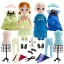 """z Frozen Elsa and and Anna 16"""" animators - deluxe Gift Set thumbnail 1"""
