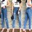 กางเกงแฟชั่น กางเกงยีนส์ทรงบอยเฟรน รุ่นใหม่ล่าสุด ทรงเอวสูง ฟอกสีสวย thumbnail 15
