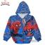 """"""" ( S-M-L-XL """" เสื้อแจ็คเก็ต Spiderman เสื้อกันหนาว เด็กผู้ชาย สีน้ำเงิน รูดซิป มีหมวก(ฮู้ด) ใส่คลุมกันหนาว กันแดด สุดเท่ห์ ใส่สบาย ลิขสิทธิ์แท้ (ไซส์ S-M-L-XL ) thumbnail 6"""