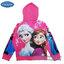 """"""" ( Size เด็ก 4-6-8-10 ปี ) Jacket Disney Frozen for Girl เสื้อแจ็คเก็ต เสื้อกันหนาว เด็กผู้หญิง สีชมพู รูดซิป มีหมวก(ฮู้ด)ใส่คลุมกันหนาว กันแดด ใส่สบาย ดิสนีย์แท้ ลิขสิทธิ์แท้ thumbnail 2"""