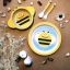 Earth Dezign ชุดผลิตภัณฑ์จานชามสำหรับเด็ก จากเยื่อไผ่ ปลอดภัยสำหรับเด็ก 5 ชิ้น thumbnail 11