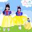 """"""" ชุดเดรส ชุดแฟนซี เจ้าหญิงสโนไวท์ + ผ้าคลุม(ถอดได้) ชุดแฟนซีเจ้าหญิง ผ้าดี ใส่สบาย (สำหรับเด็กอายุ 3-8 ปี) thumbnail 1"""