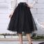 พรีออเดอร์ กระโปรง tutu ผู้ใหญ่ กระโปรงยาว กระโปรงบาน กระโปรง Princess tutu skirt ผ้าชีฟองชั้นเดียวสีน้ำเงิน กระโปรงออกงาน thumbnail 6