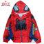 ( Size S-M-L-XL ) เสื้อแจ็คเก็ต Spiderman เสื้อกันหนาว เด็กผู้ชาย สีแดง รูดซิป มีหมวก(ฮู้ด) ใส่คลุมกันหนาว กันแดด สุดเท่ห์ ใส่สบาย ลิขสิทธิ์แท้ (ไซส์ S-M-L-XL ) thumbnail 1