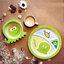 Earth Dezign ชุดผลิตภัณฑ์จานชามสำหรับเด็ก จากเยื่อไผ่ ปลอดภัยสำหรับเด็ก 5 ชิ้น thumbnail 14