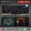 Marvo KG935 Blue Switch Mechanical RGB Keyboard And Macro 👍แถมฟรี!!! ผ้ารองคีย์บอร์ดแบบยาว 👍 thumbnail 1