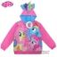 """ฮ """" S-M-L-XL """" เสื้อแจ็คเก็ต My Little Pony เสื้อกันหนาว เด็กผู้หญิง สีชมพู รูดซิป มีหมวก(ฮู้ด) ใส่คลุมกันหนาว กันแดด สุดเท่ห์ ใส่สบาย ลิขสิทธิ์แท้ (ไซส์ S-M-L-XL ) thumbnail 1"""